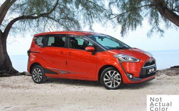Toyota Sienta – Avail Nov 22nd